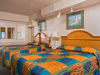 Spacious Oceanfront 1 Bedroom Suite + Official On-Site Rental Privileges