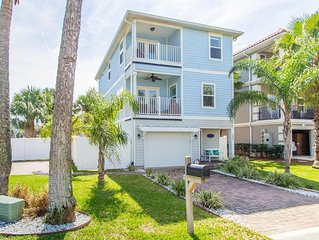 Two block from ocean 4 bedrooms House in Jacksonville Beach South- Pet Friendly