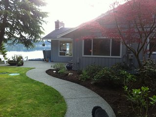 Beautiful Waterfront Retreat on Case Inlet!