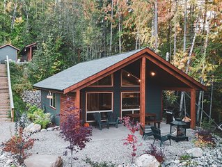 Cozy two bedroom cabin in the woods on White Lake, BC