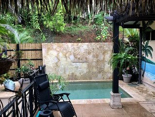2 bdr Villa w/ ocean view, sleeps 6 adults + children, pool