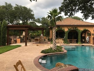 Villa at Cibolo Chase - 11 acres with private pool