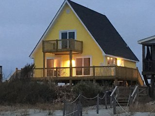 Oceanfront - Sunny inside and out!