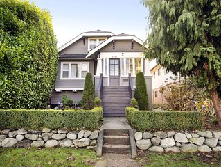 Stylish, Spacious, Suite within East Vancouver Heritage Home