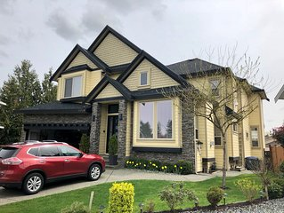 Luxury 4300 sq. ft. family home with high-end amenities. 30 min. to Vancouver.