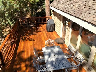 Idyllwild Luxury! Heated, newly remodeled cabin!  (Message 4 Same Day Bookings)