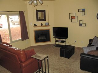Comfortable Vacation Condo in Kanab, Southeast Utah – One Love Kanab J2