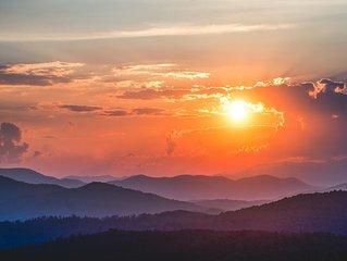 Spectacular Panoramic Mountain Views