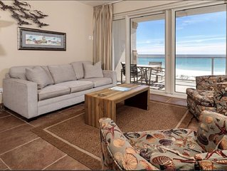 Spectacular Beach Front Views with 2 Heated Pools and Free Beach Chairs!