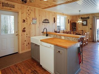 Allegan Lake Cottage & Private Cabin