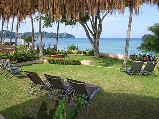 ❤︎ ☼BEACHFRONT MEXICAN CASA Steps 2 beach. EXCELLENT LOCATION ❤︎ ☼