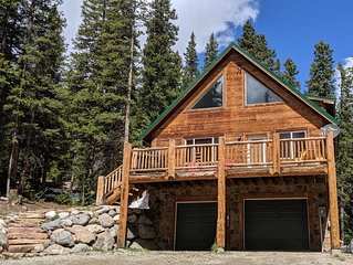 Relax in a Secluded Colorado Rockies 4b/3b Cabin near Breckenridge