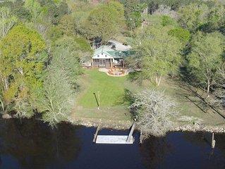 Sanctuary * Edisto River Lodge, Perfect Family Retreat Location