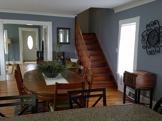 Completely remodeled house on Palmer Lake in Colon, MI, one block from downtown