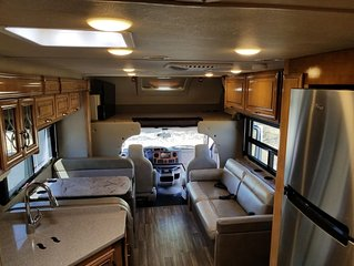 2018 Stationary RV, sleeping space for up to 6 people.