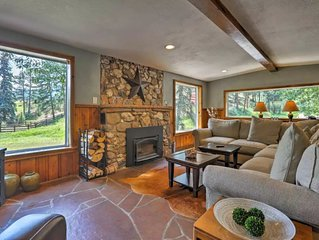 Fully Restored Cabin with Private Hot Tub on Historic Ranch