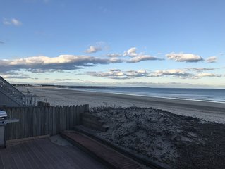 Beach house #2, 4 bedrooms, sleeps 9, private access to Wells Beach. Perfect!!