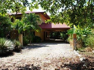Casa Bendita just steps away from Beautiful and Pristine Playa Junquillal