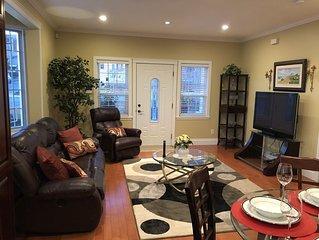Modern, newly built, Gnd level 2bdrm guest house