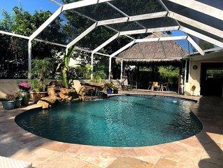 Hamilton House, Miami - Tropical Oasis/Pool/Tiki/Sleeps 20