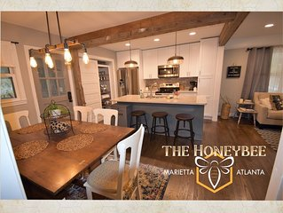The Honeybee House North Atlanta Marietta Business or Family Travel Sleeps 1-6