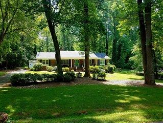 Private, Updated Ranch in Quiet Neighborhood