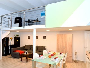 ★NEW modern Apartment | ACE LOCATION with AC | 48 m2  ★