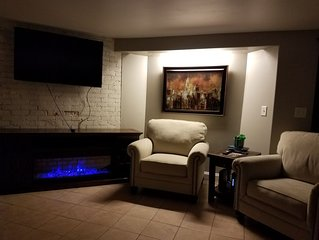 This Cozy Suite is located on the lower South hill
