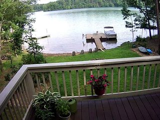 Lake Nottely Lakefront House with Private Dock