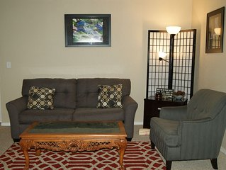 Special!Rent 2 notes and get 1 free. Center of Town w/ Fireplace - free Wi-Fi.