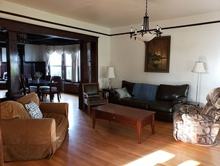 Beautiful 1908 Grand Craftsman 5000+ sq. ft. living space with a grand view.