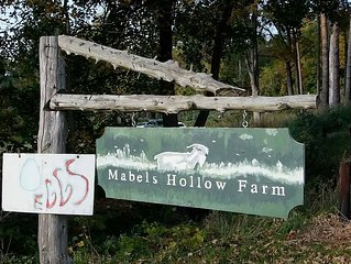 Mabels Hollow Farm, En suite bedroom farm stay,