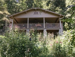 NEW ! - Historic home - views, trails, quiet, near Asheville, Equestrian Center