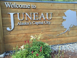 Excellent Home Base to Experience Juneau and Live Like a Local!