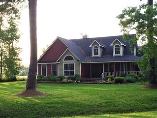 Maple Creek Bed & Breakfast--Whole House/Pool, 5+ acres, Wedding Venues Nearby