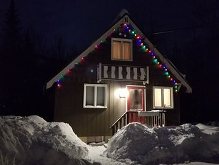 Cozy Chalet at base of Mt. Abram with close proximity to Sunday River and lakes.