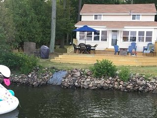 Lakefront cottage,family vacation rental at Sandy Pond, Lake Ontario, Pulaski NY