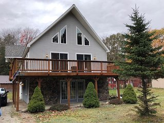 Newly Remodeled, Walking Distance into Old Forge and Water Park.