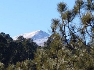 Cool Mountain Paradise facing Golf Course and Sierra Blanca Mtn.