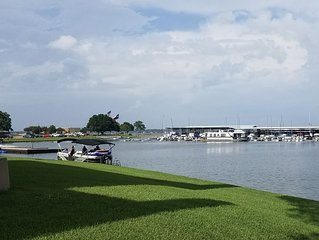 Stunning Lake Conroe Get Away right at the waters edge!