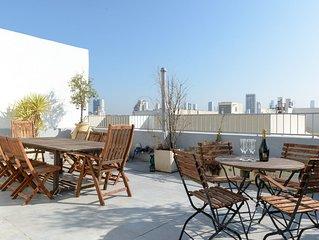 Stunning 3 Bedroom Duplex Apartment (near Gordon Beach)