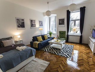 Cozy&Spacious in the Heart of Zagreb #newfurniture