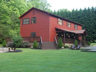 New Listing! Relaxing Large  Mountain Getaway Minutes from Helen
