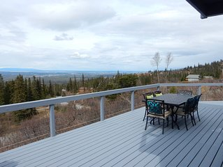 The View, within Anchorage city limits, offers the most amazing Alaskan vistas.