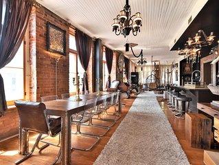 Luxury Dreamy Designer Loft Heart Of Old Montreal