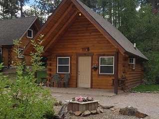 Sunset Ridge #2 Custom Built Log Cabin Near Mount Rushmore