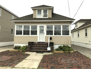 Relax in this newly renovated home just across the street from the boardwalk.