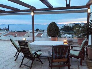 Saronida Amazing Seaview Apartment