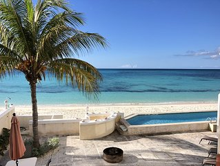 SUMMER SPECIAL! Beach front residence with Breathtaking Heated infinity pool