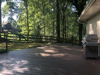 Relax at Lake Lanier in this Family Friendly Home!